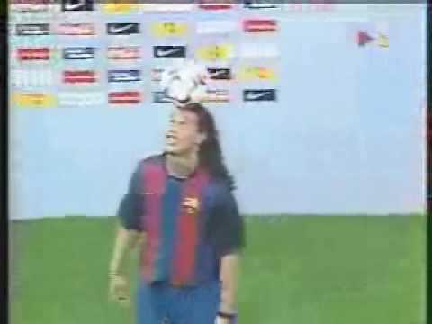 Presentación Ronaldinho en el Camp Nou