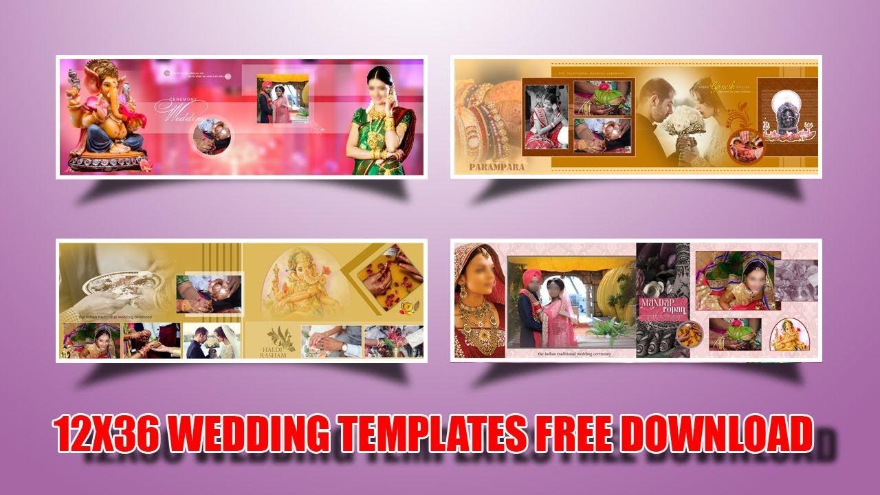 Free Psd File Download Wedding Album Templates Vol 16
