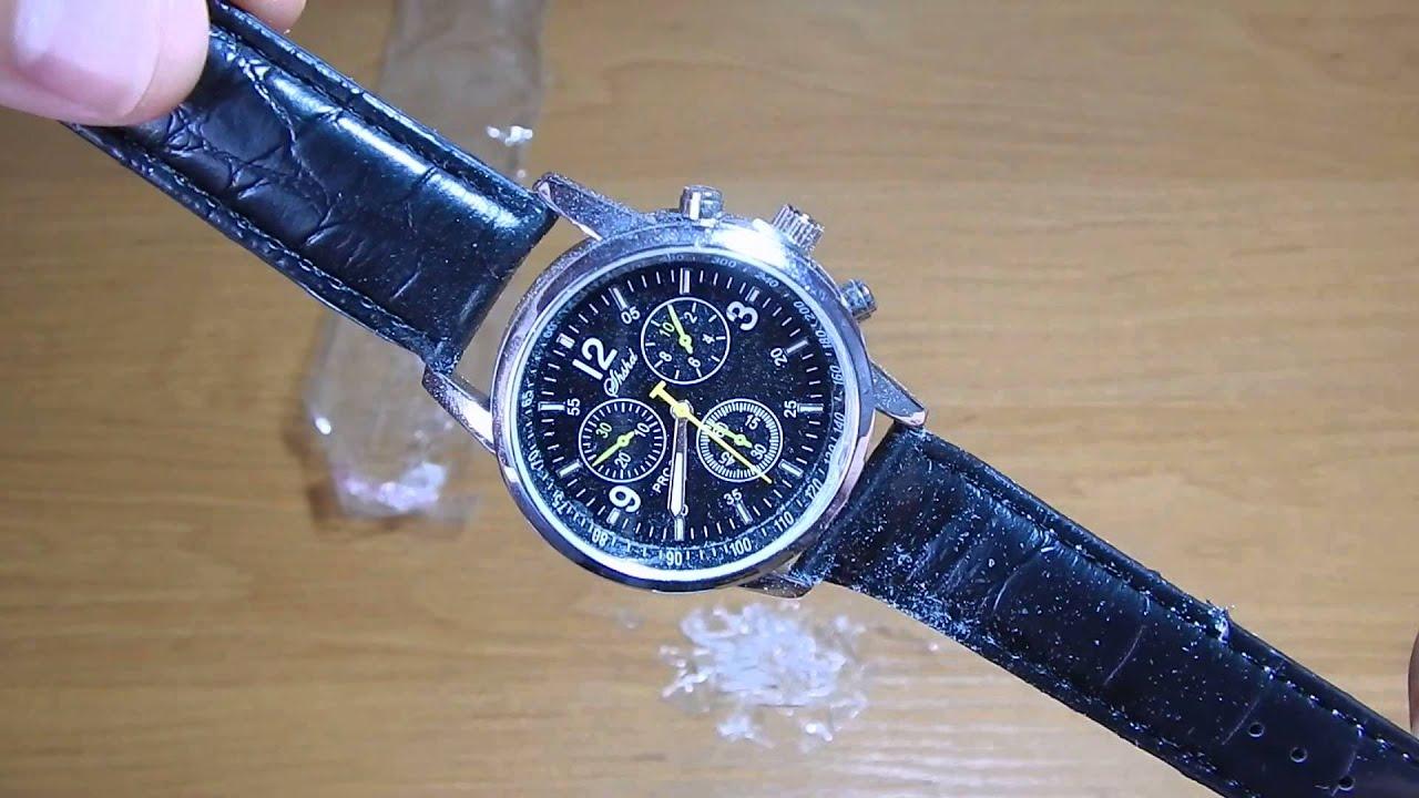 Мужские часы yazole 332 черные с коричневым ремешком, цена 150 грн. , купить в виннице — prom. Ua (id#612582789). Подробная информация о.