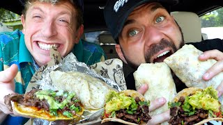 FAMOUS AUTHENTIC MEXICAN FOOD MUKBANG with MATT KING & UGH ITS JOE!!