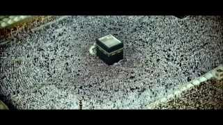 "Azan & Muslim pilgrims""hajj"" prayer in mecca Kaaba time lapse 2:24 ! plz check description"