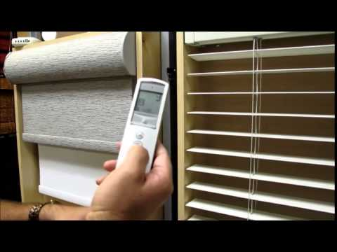 Graber wire free battery motorized blinds and shades by 3 for How to install motorized blinds