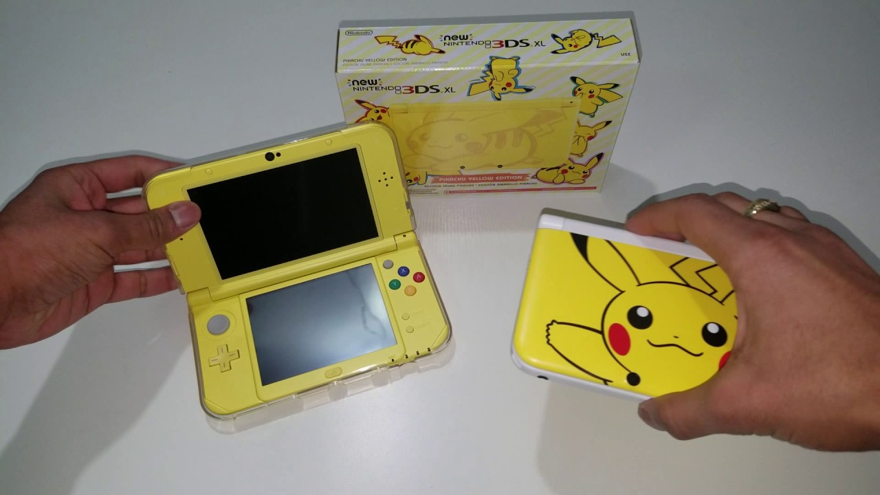 New 3ds xl pikachu yellow edition unboxing youtube for 3ds xl pikachu achat