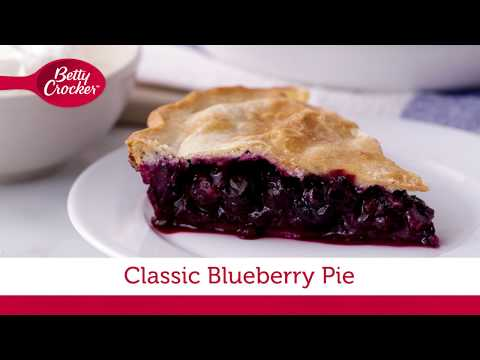 Classic Blueberry Pie | Betty Crocker Recipe