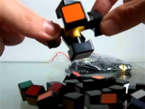 Como desmontar e recolocar as peças do seu cubo mágico