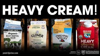 what is the best heavy cream? and why we love heavy cream!
