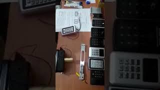 Şifreli kart okuyucuların apartman kilidi ve basaç kilide bağlantısı ve basaç kilit yön değiştirme