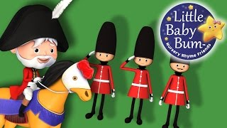 The Grand Old Duke Of York | Nursery Rhymes | by LittleBabyBum! thumbnail