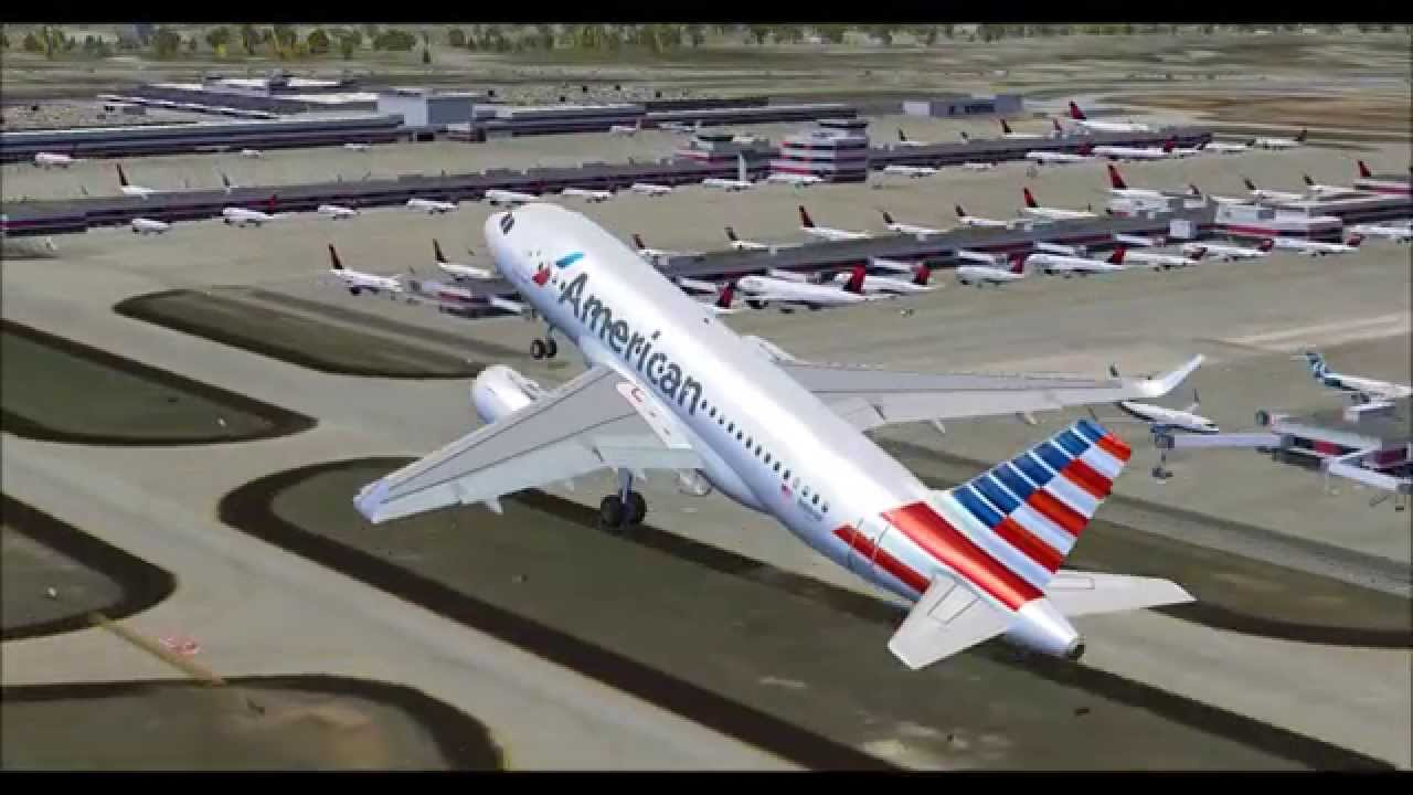 Fsx Hd New Project Airbus Sharklets American Airbus A319