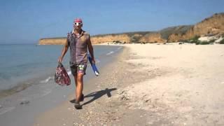 видео отдых в крыму песчаный пляж