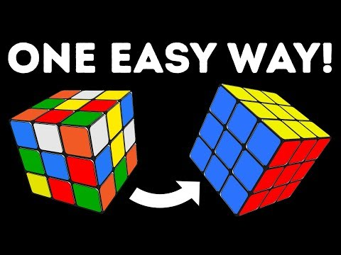 How to Solve a 3x3 Rubik's Cube In No Time | The Easiest Tutorial