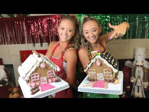 Gingerbread House Challenge | Teagan & Sam