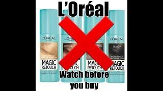 Loreal Magic Retouch spray rev…