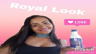 Testei o alisamento Royal Look...Olenka Cosmético!!