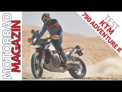 KTM  Adventure Test - Keine geht besser über Stock und Stein