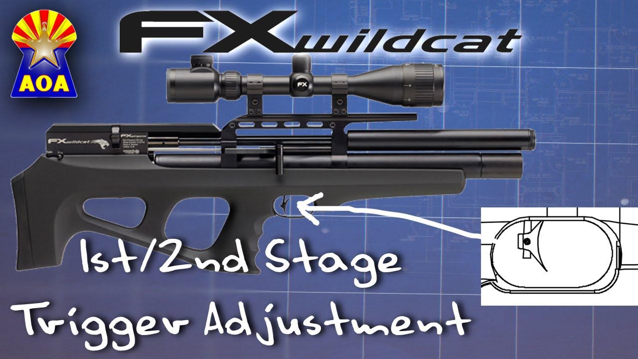 FX Wildcat Trigger Adjustment
