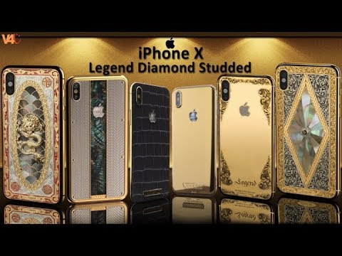 Iphone X Collection Legend Introduces Diamond Studded Price Specs Most Expensive Smartphones 2017