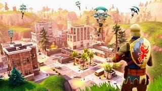 BRAND **NEW** FORTNITE MAP & CITIES! (Fortnite: Battle Royale)
