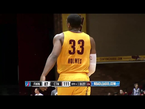 Highlights: Jonathan Holmes (27 points)  vs. the Mad Ants, 1/28/2017