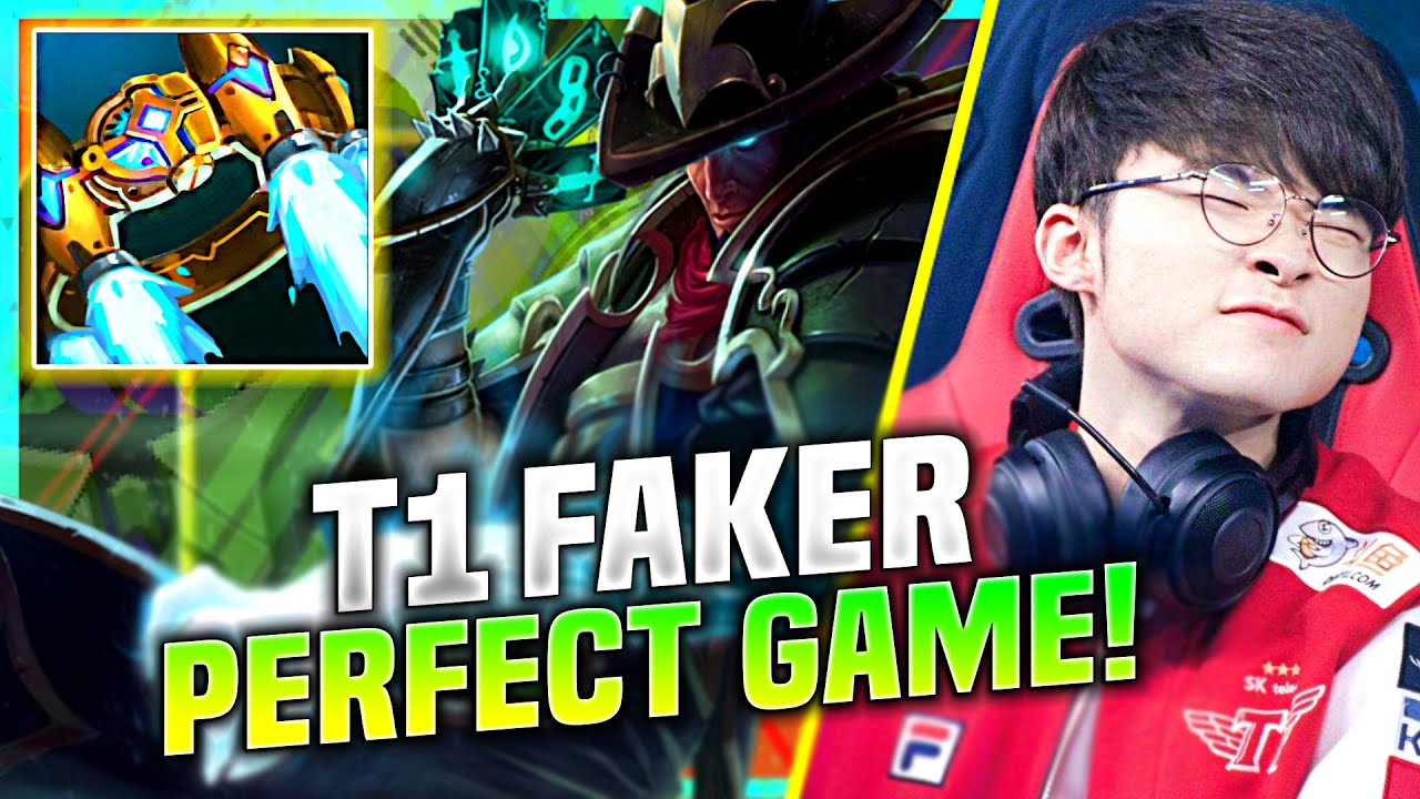FAKER DID THE PERFECT GAME WITH TWITSTED FATE! - T1 Faker Plays Twisted Fate Mid vs Orianna! | SoloQ
