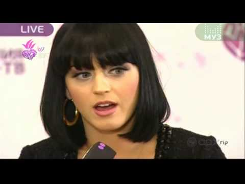 KATY PERRY ПРЕСС КОНФЕРЕНЦИЯ MUZ-TV MUSIC AWARDS ПРЕМИЯ МУЗ-ТВ 2009