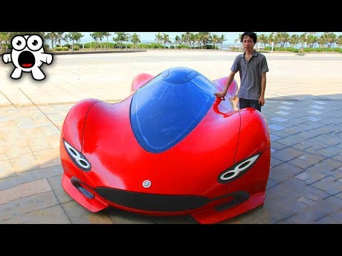 Incredible Custom DIY Supercars People Built Themselves