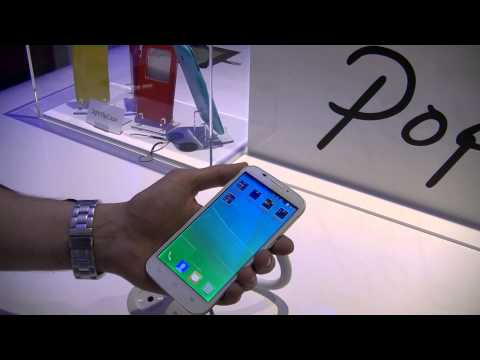 Alcatel One Touch Pop S7 - présentation au #MWC14 | par Top-For-Phone.fr