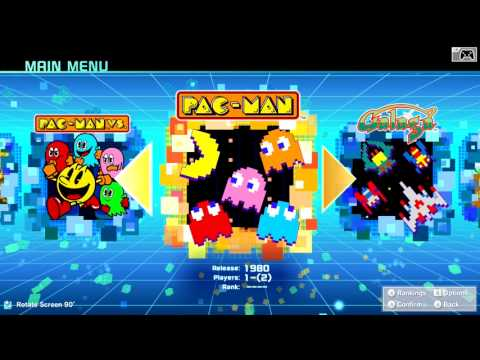 NAMCO MUSEUM (Nintendo Switch eShop)- Gameplay Footage (All Challenges & PMV)