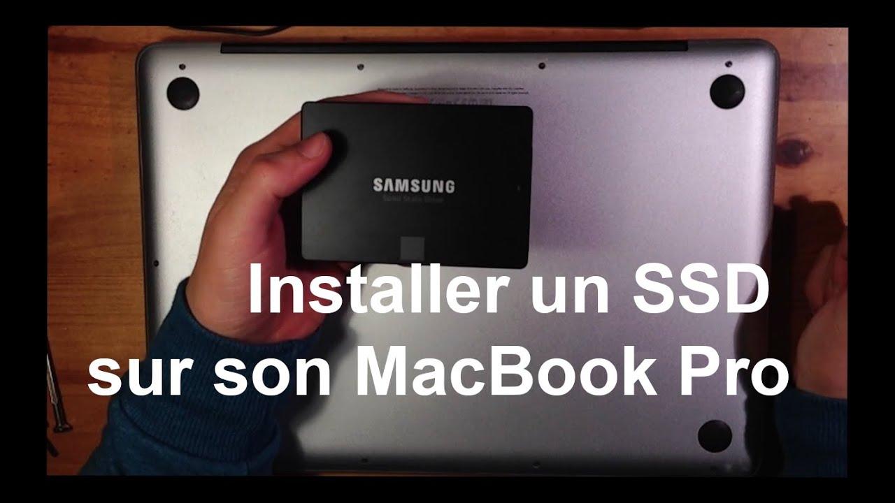 installer ssd macbook pro