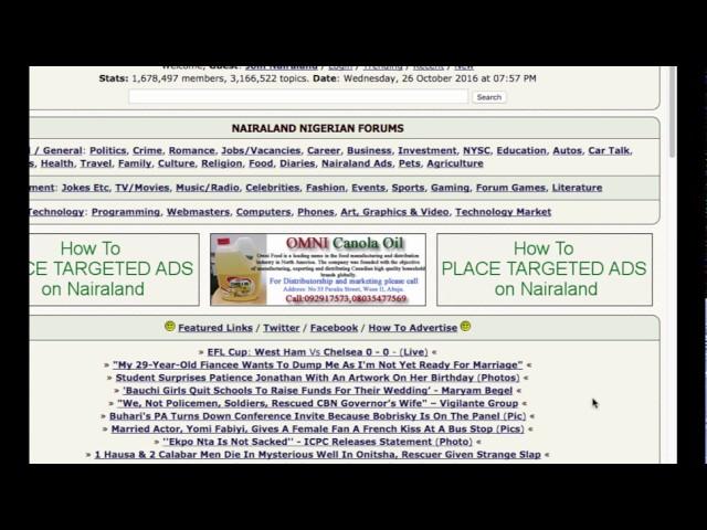Nigerian best forum sites - Top 8 ▷ Legit ng