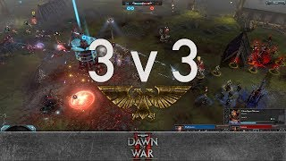 Dawn of War 2 - Faction Wars 2018   Eldar vs Chaos Space Marines #2