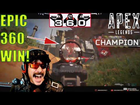 APEX LEGENDS: First EPIC 360 WIN! (Timestamped)