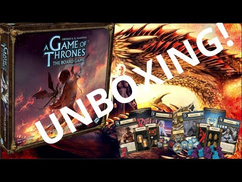 Игра престолов: Мать Драконов (дополнение) - Анбокс + обзор карточек!