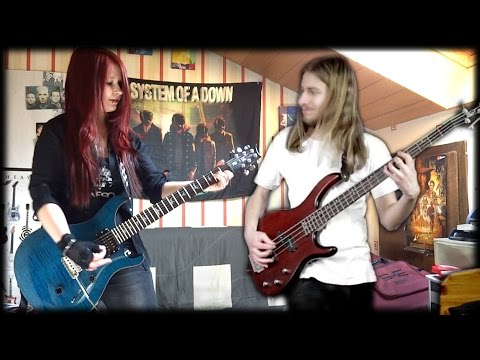 MEGADETH - Countdown To Extinction [Guitar & Bass Cover] [Instrumental Cover] by Jassie J & MattyPS