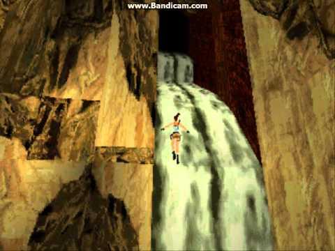 Playstation 1   truco cascada, tomb raider 2