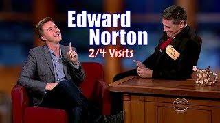 Edward Norton - A Really Sweet Guy - 2/4 Visits In Chronological Order Poster