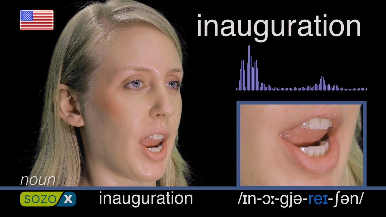 How To Pronounce INAUGURATION - American Pronunciation