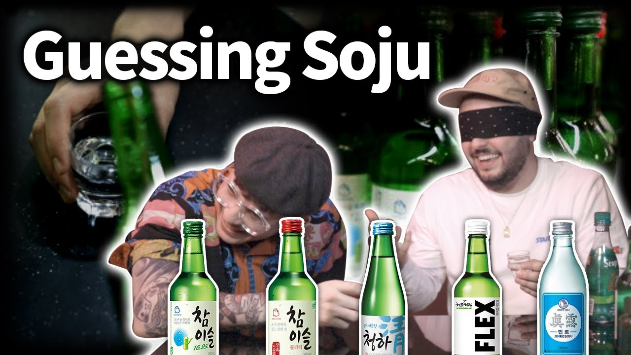 Guessing Korean Soju brands (This fool thinks he can)