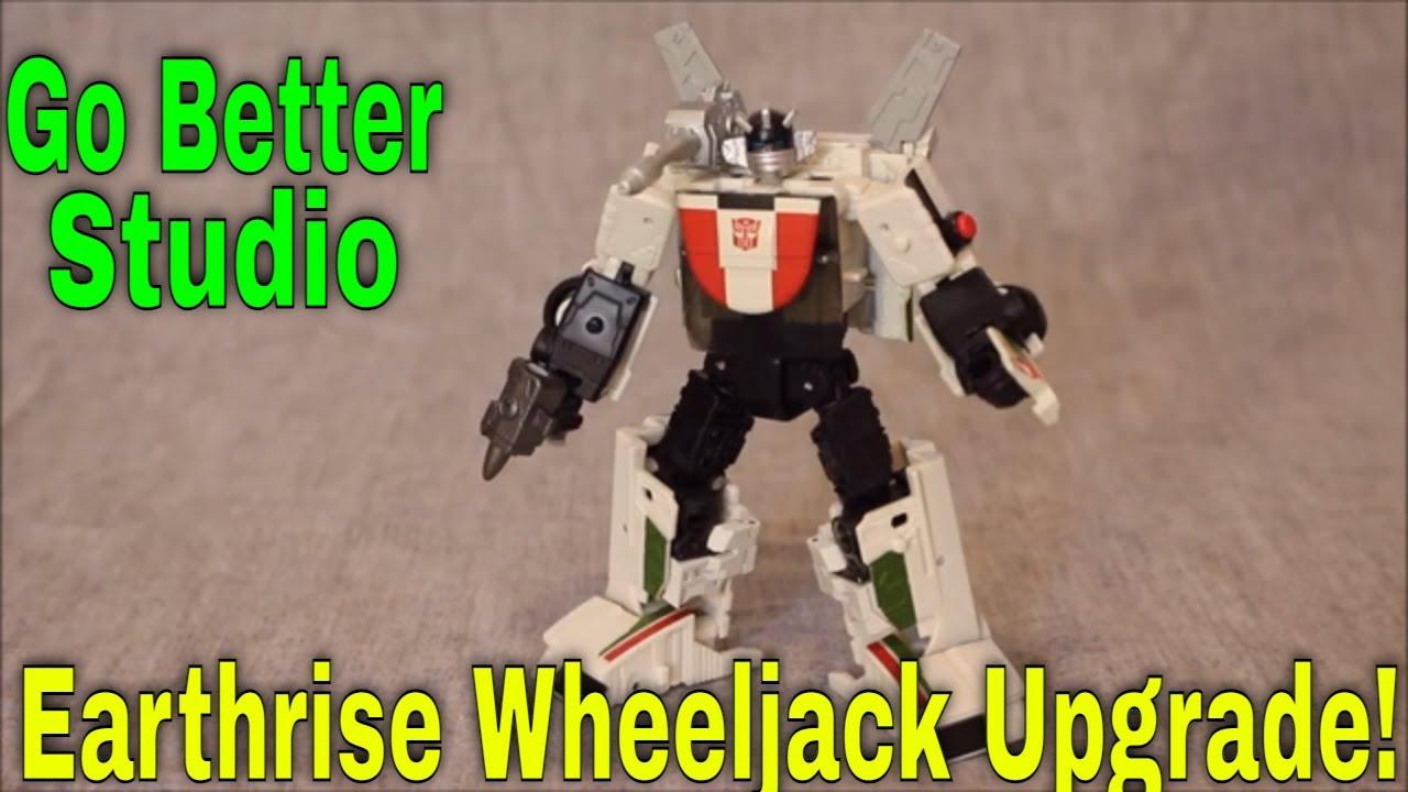 Wheeljack Enhanced: Go Better Studio ER Wheeljack Upgrade Set by GotBot