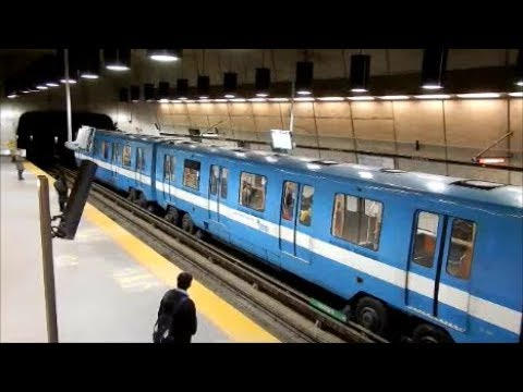 MONTREAL METRO TRAINS IN ACTION