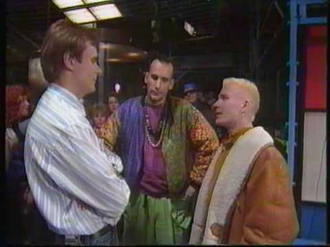 Rob n' Raz intervju från Svepet 1990 (SVT)