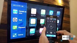 HTV BOX 5 - Controle remoto Celular - Cetusplay