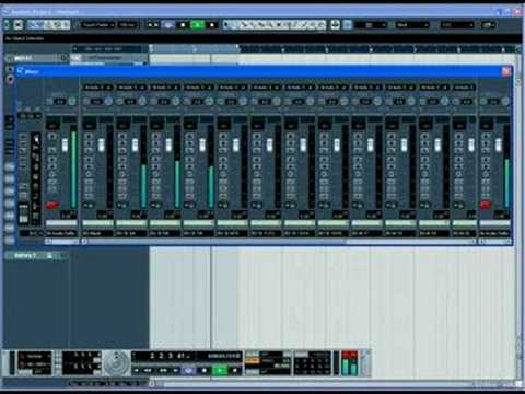 Making Beat in Nuendo