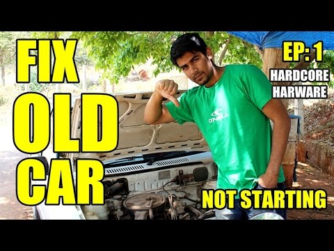 Hardcore Hardware Episode: 1 OLD CAR PROBELM | NOT STARTING | HOW TO FIX MARUTI 800