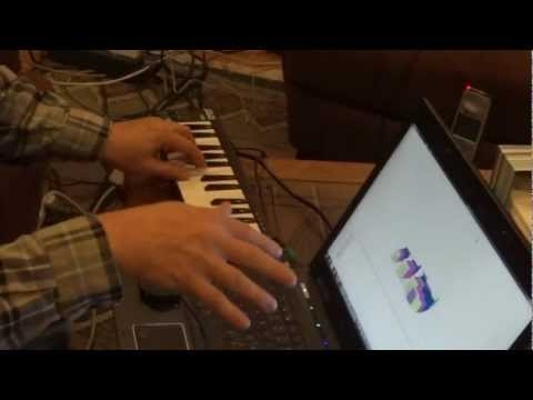 Experimenting with the Leap Motion device as a musical instrument