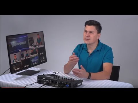 Tutorial: Live Multicam Production With The Roland V-60HD, Part 1