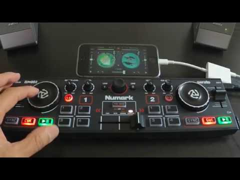 Numark DJ2GO2 & IPhone+djay2