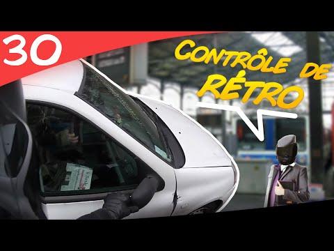 VU À MOTO #30 ► Contrôle SNCF - Vos rétros svp 👮