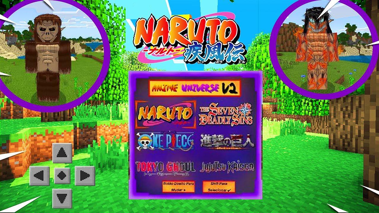 Download MELHOR ADDON DOS ANIMES! DRAGON BALL, NARUTO, ATTACK ON TITAN, NANATSU NO TAIZAI, ONE PIECE, JUJUTSU