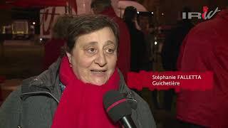 06-11-18 : Grève chez Bpost - Awans(Liège) - CGSP POSTE